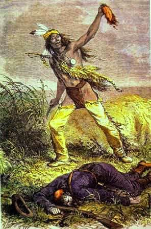 indian wars scalp